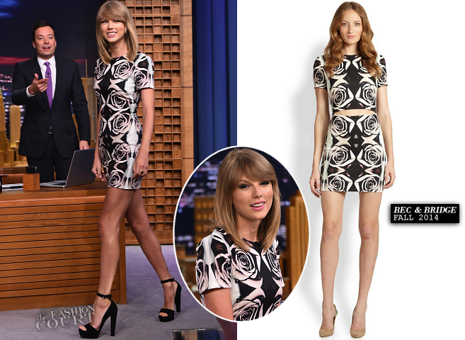 Taylor Swift in Bec & Bridge | 'The Tonight Show Starring Jimmy Fallon'