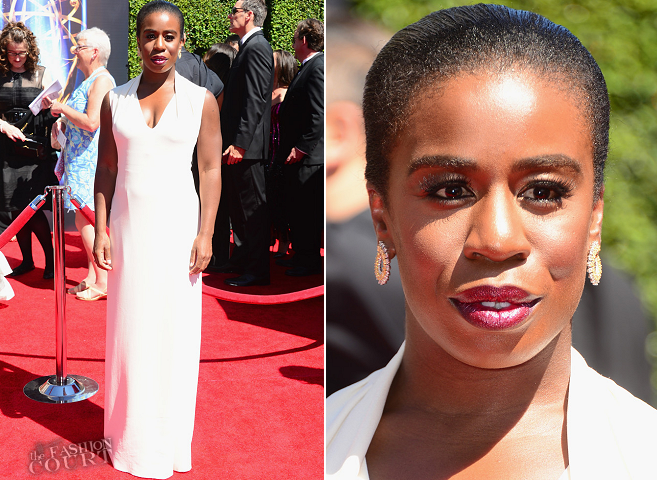 Uzo Aduba in Costume National | 2014 Creative Arts Emmy Awards