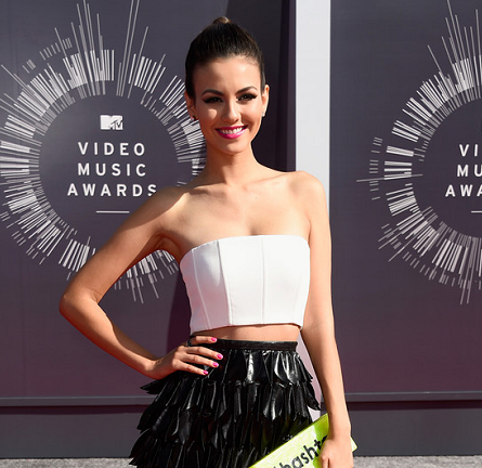 Victoria Justice in Alice + Olivia & LUBLU Kira Plastinina | 2014 MTV Video Music Awards