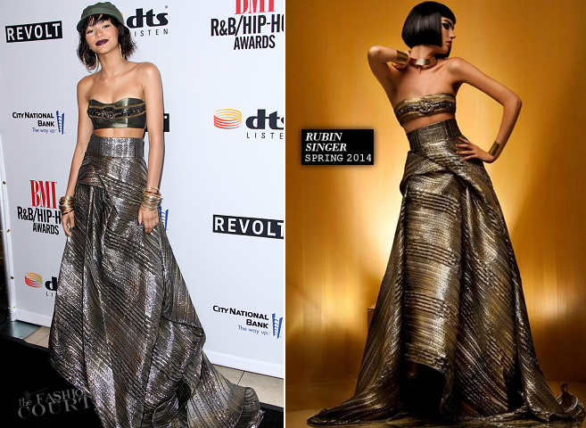 Zendaya in Rubin Singer | 2014 BMI R&B/Hip-Hop Awards