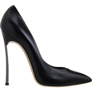 Casadei Leather Blade Heel Pumps