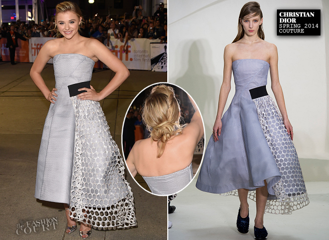 Chloë Grace Moretz in Dior Couture | 'The Equalizer' Premiere - 2014 Toronto International Film Festival