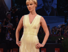 January Jones in Hugo Boss | 'Good Kill' Premiere - 2014 Venice Film Festival