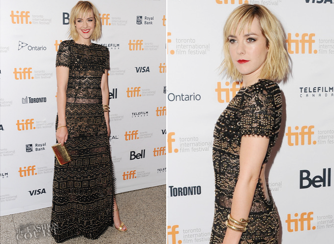 Jena Malone in Emilio Pucci | 'Time Out of Mind' Premiere - 2014 Toronto International Film Festival