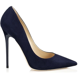 Jimmy Choo 'Anouk' Suede Pumps