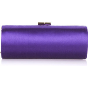 Jimmy Choo Satin Tube Clutch