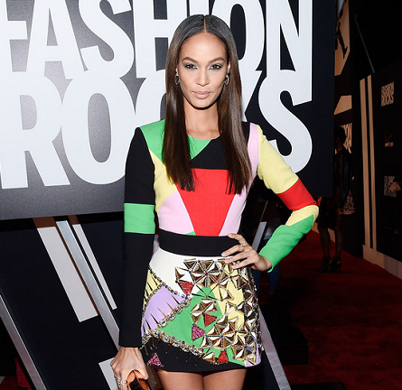 Joan Smalls in Fausto Puglisi | Fashion Rocks 2014