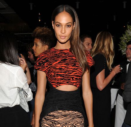 Joan Smalls in Proenza Schouler | Jennifer Fisher New York City Flagship Store Opening