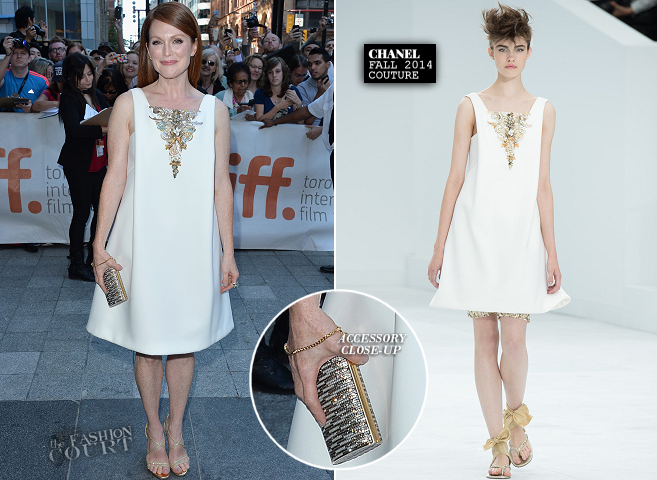 Julianne Moore in Chanel Couture | 'Still Alice' Premiere - 2014 Toronto International Film Festival