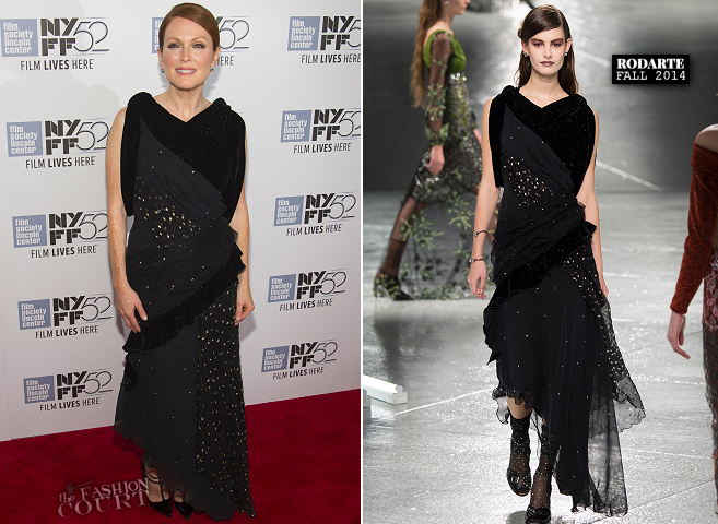 Julianne Moore in Rodarte | 'Maps to the Stars' Premiere - 2014 New York Film Festival