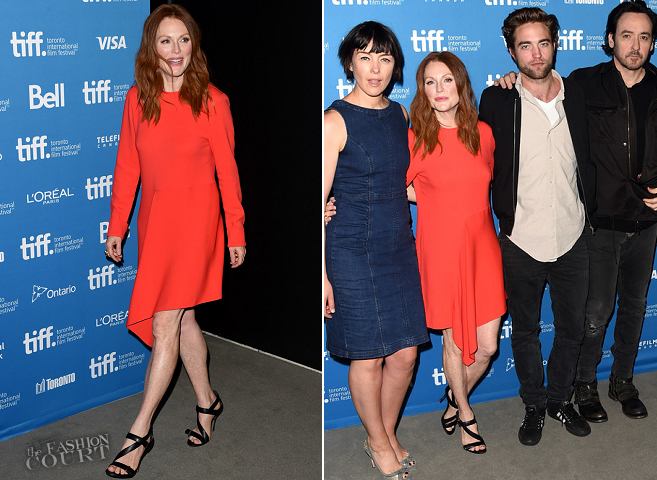 Julianne Moore in Stella McCartney | 'Maps to the Stars' Photocall - 2014 Toronto International Film Festival