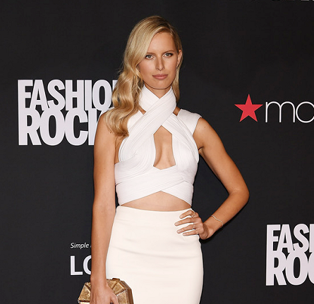 Karolina Kurkova in Dion Lee | Fashion Rocks 2014