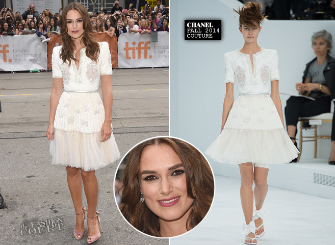Keira Knightley in Chanel Couture | 'The Imitation Game' Premiere - 2014 Toronto International Film Festival