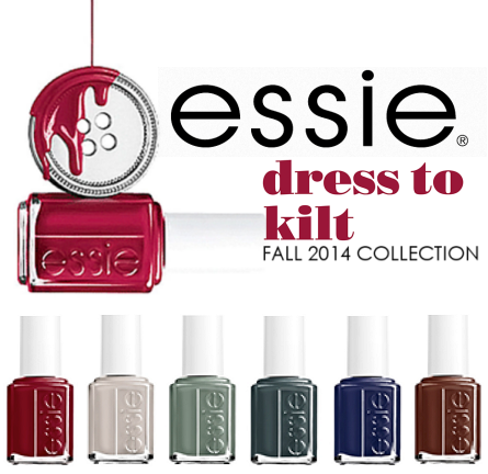 Review: Essie 'Dress To Kilt' Collection