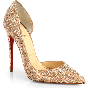 Christian Louboutin Iriza Strass Crystal Pointed-Toe d'Orsay Pumps