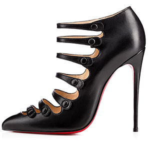 Christian Louboutin 'VIENNANA' Strappy Pumps