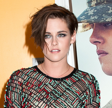 Get The Look: Kristen Stewart's Edgy 'Camp X-Ray' Screening Hair - The Cut & Style!