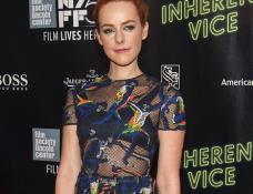 Jena Malone in Valentino | 'Inherent Vice' Premiere - 2014 New York Film Festival
