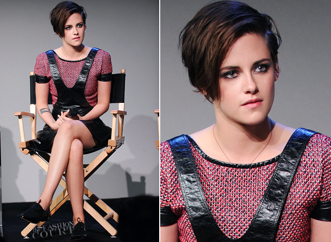 Kristen Stewart in Chanel | Meet the Filmmakers: 'Camp X-Ray'