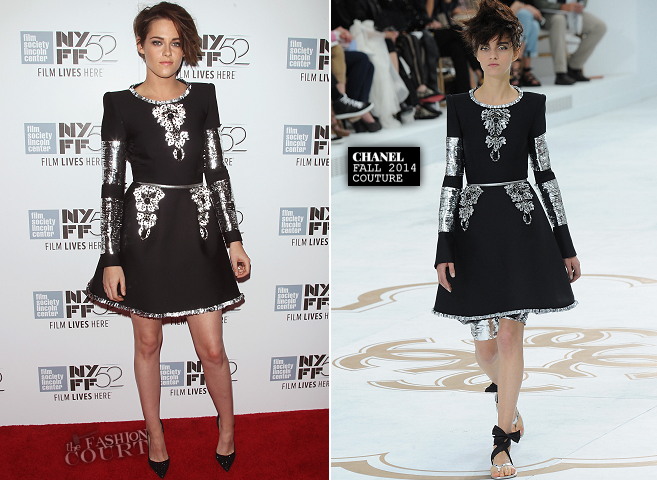 Kristen Stewart in Chanel Couture | 'Clouds of Sils Maria' Premiere - 2014 New York Film Festival