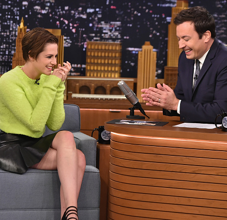 Kristen Stewart in POLO Ralph Lauren | 'The Tonight Show Starring Jimmy Fallon'