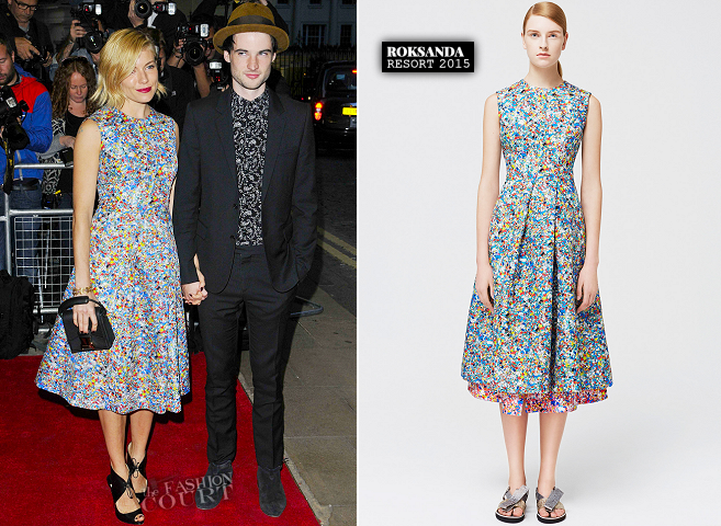 Sienna Miller in Roksanda | 'Effie Gray' London Premiere