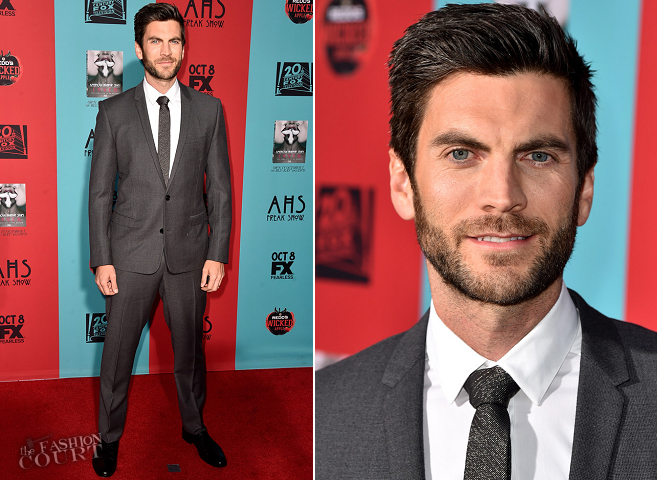 Wes Bentley in Dior Homme | 'American Horror Story: Freak Show' Premiere