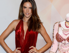 Alessandra Ambrosio in Donna Karan | Victoria's Secret Dream Angels Fantasy Bra Debut