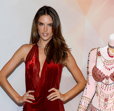 Alessandra Ambrosio in Donna Karan | Victoria's Secret Dream Angels Fantasy Bra Debut