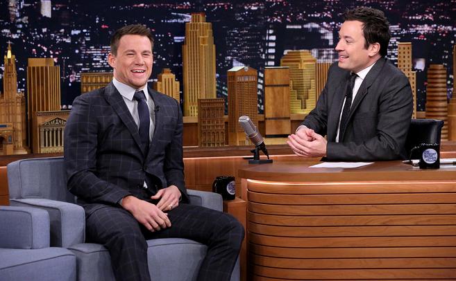 Channing Tatum in Gucci | 'The Tonight Show Starring Jimmy Fallon'