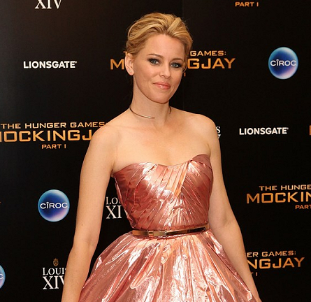 Elizabeth Banks in Monique Lhuillier | 'The Hunger Games: Mockingjay - Part 1' UK Premiere After Party