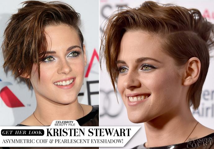 Get The Look: Kristen Stewart 'Rocker Chic' Hair - AFI FEST 2014 'Still Alice' Screening