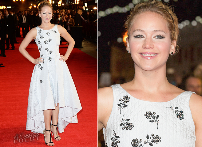 Jennifer Lawrence in Dior | 'The Hunger Games: Mockingjay - Part 1' World Premiere