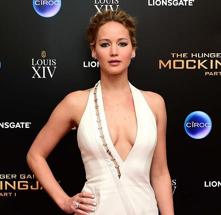 Jennifer Lawrence in Mugler | 'The Hunger Games: Mockingjay - Part 1' UK Premiere After Party