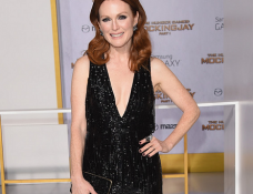 Julianne Moore in Tom Ford   'The Hunger Games: Mockingjay – Part 1' LA Premiere