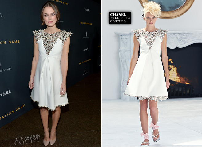 Keira Knightley in Chanel Couture | 'The Imitation Game' Special LA Screening