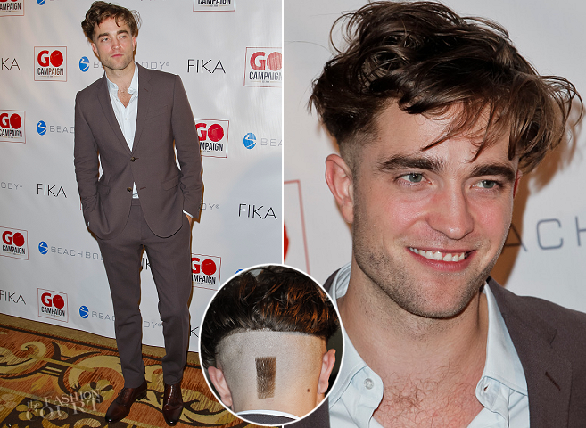 Robert Pattinson in Gucci | GO GO Gala 2014