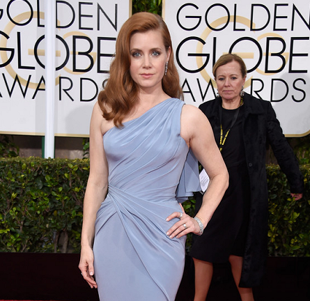 Amy Adams in Atelier Versace | 2015 Golden Globes
