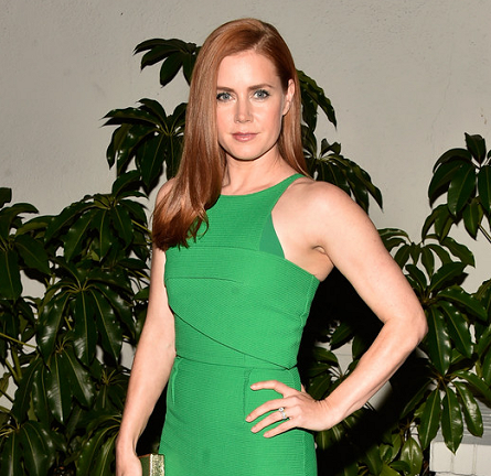 Amy Adams in Roland Mouret | W Magazine's Golden Globes 2015 Celebration