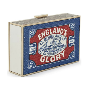 Anya Hindmarch Fall 2014 'Imperial England's Glory' Clutch