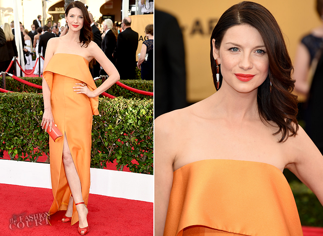 Caitriona Balfe in Solace London | 2015 SAG Awards