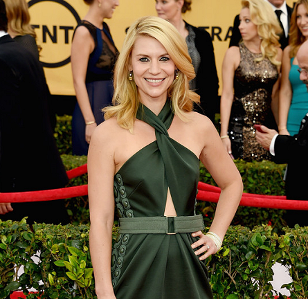 Claire Danes in Marc Jacobs | 2015 SAG Awards