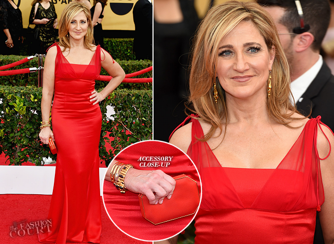 Edie Falco in Randi Rahm | 2015 SAG Awards
