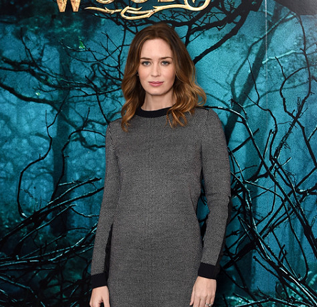 Emily Blunt in Ann Taylor | 'Into The Woods' London Photocall