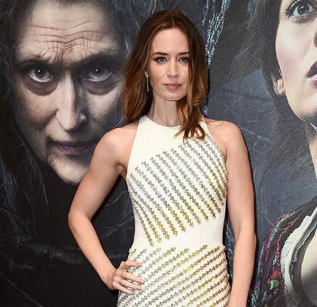 Emily Blunt in David Koma | 'Into The Woods' London Screening