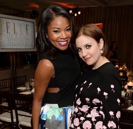 Gabrielle Union in NOVIS   ELLE's Women in Television Celebration 2015