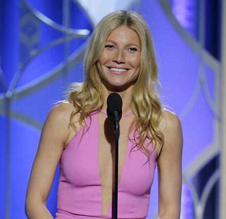 Gwyneth Paltrow in Michael Kors | 2015 Golden Globes