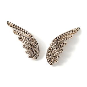 H.Stern 'Rock Season' Wing Earrings