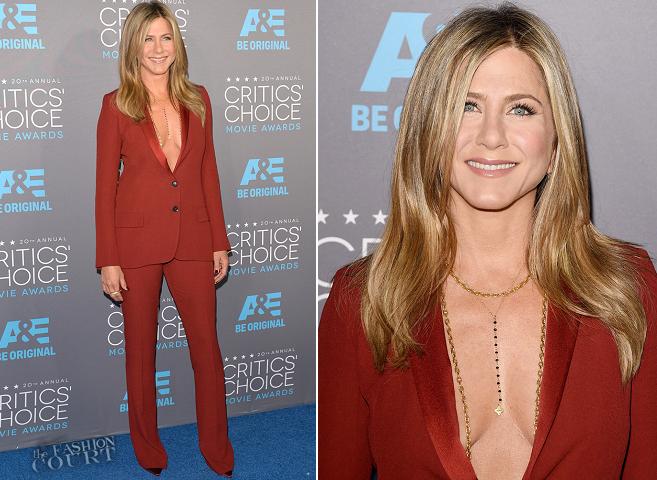 Jennifer Aniston in Gucci | 2015 Critics' Choice Movie Awards