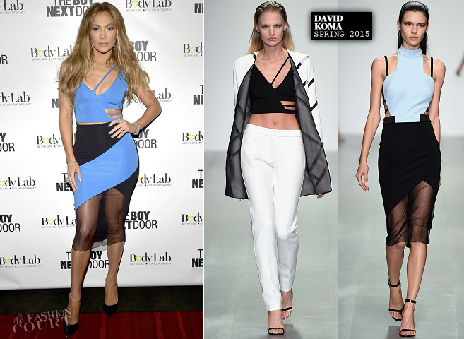 Jennifer Lopez in David Koma | 'The Boy Next Door' Miami Screening